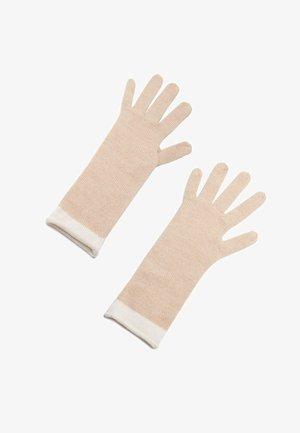 ZWEIFARBIGE  - Gloves - naturale