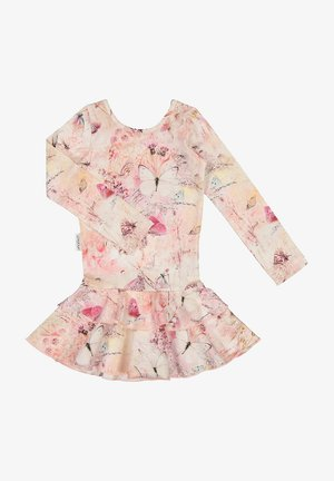 Day dress - coral butterfly