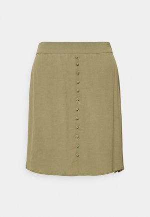 ISA SKIRT - Mini skirt - light khaki