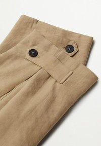 Mango - VESTI - Trousers - middenbruin - 6