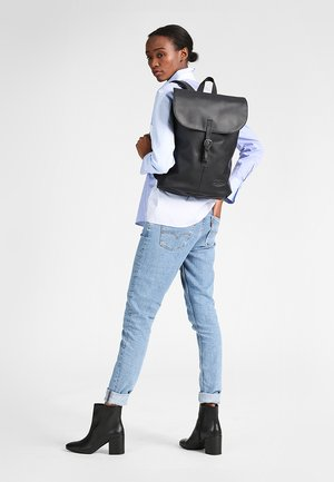 CIERA/CORE COLORS - Rucksack - black ink leather