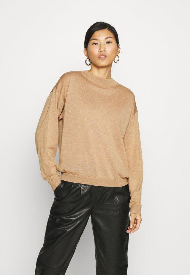 MERINA - Sweter - tan melange