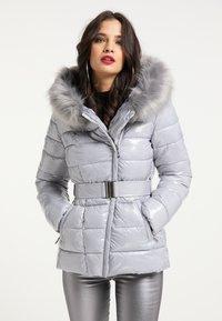 faina - Winter jacket - hellgrau - 0