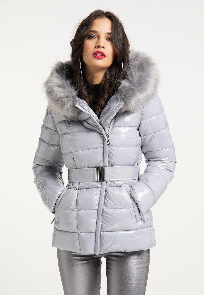 faina - Winter jacket - hellgrau