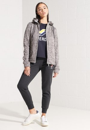 STORM HERITAGE  - Zip-up hoodie - mid grey marl