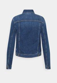 Marc O'Polo DENIM - JACKET REGULAR LENGTH PATCHED POCKETS - Denim jacket - multi/true indigo mid blue - 6