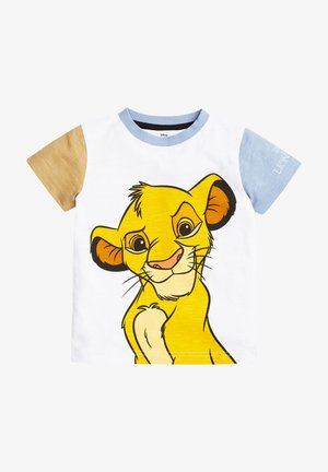DISNEY LION KING SIMBA COLOURBLOCK JERSEY T-SHIRT - Print T-shirt - multi-coloured
