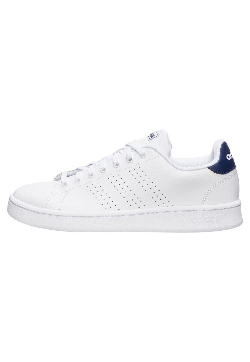 adidas Originals - ADVANTAGE SNEAKER HERREN - Trainers - footwear white / dark blue