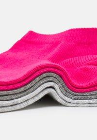 Puma - SNEAKER 3 PACK UNISEX  - Calcetines tobilleros - pink lady - 1