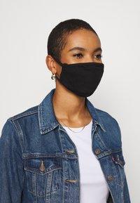 Urban Classics - 2 PACK - Maska z tkaniny - black - 2