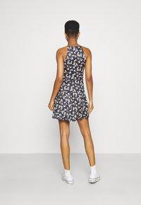 Vila - VIBE SINGLET SKIRT SET - A-line skirt - black brice combo - 2