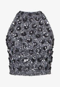 Lace & Beads - GIU - Blouse - charcoal - 4