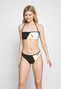 KARL LAGERFELD - BICOLOR TOP - Bikini top - black - 1
