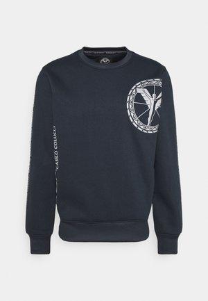 DONNAY X CARLO COLUCCI - Sweatshirt - dark blue/silver