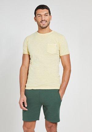 Print T-shirt - miami lemon