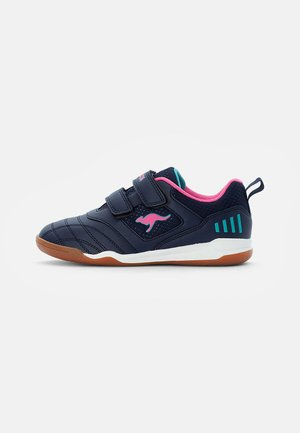 CAYARD - Sneakers basse - dark navy/daisy pink