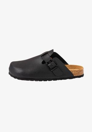 KIEL - Clogs - black/black//grey/black