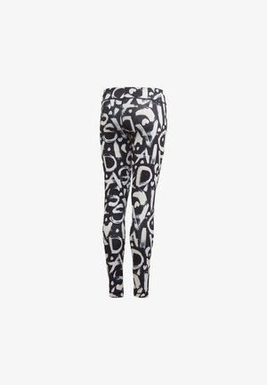 EQUIP AEROREADY PRINTED LEGGINGS - Tights - black