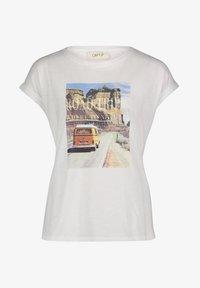 Cartoon - Print T-shirt - white/nature - 3