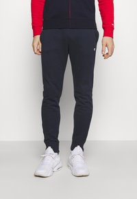 Champion - HOODED FULL ZIP SUIT - Tracksuit - red/dark blue - 3