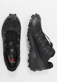 Salomon - SPEEDCROSS 5 - Trail running shoes - black/phantom - 1