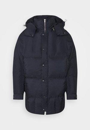 TILES LONG COAT - Winter jacket - navy