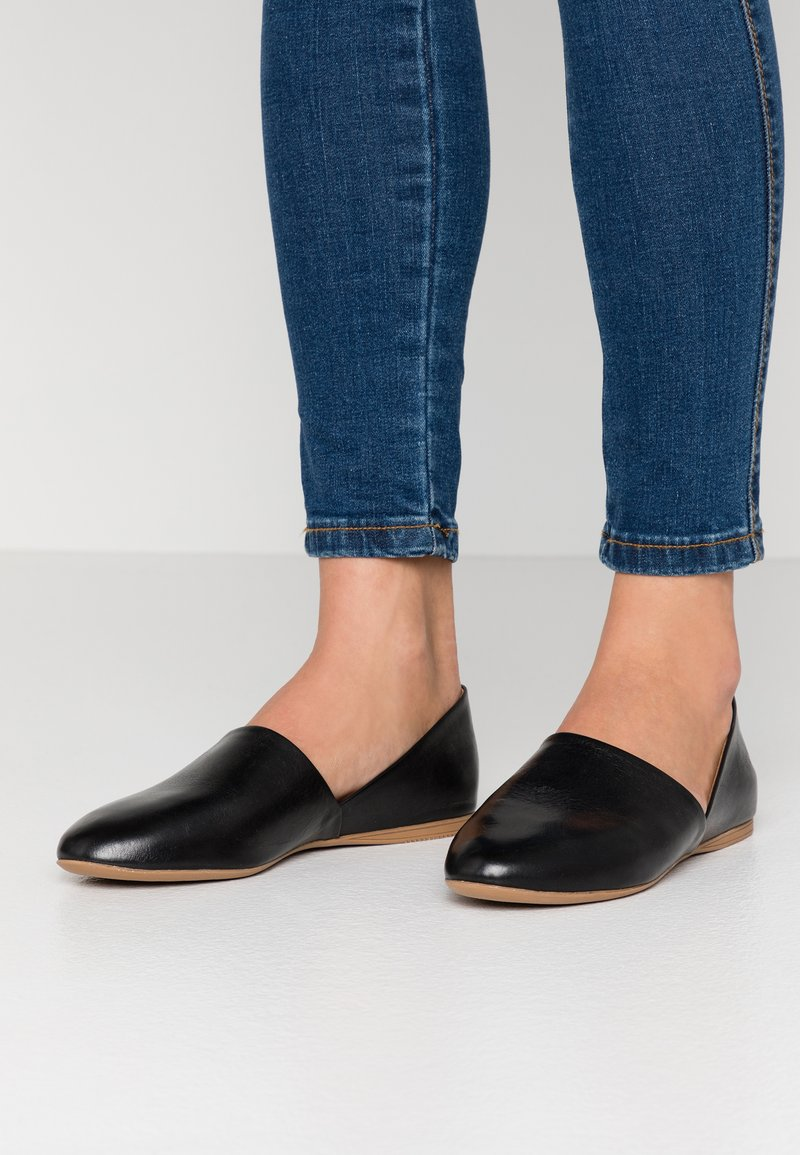 Anna Field - LEATHER - Slippers - black