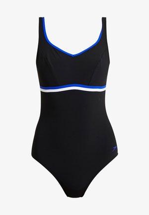 CONTOURLUXE - Swimsuit - black/chroma blue/white