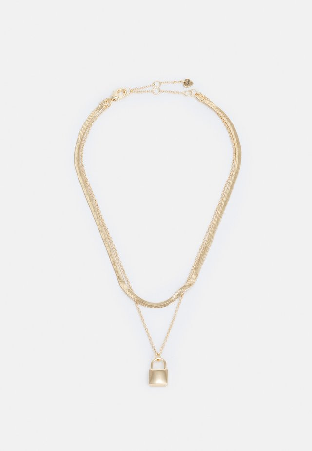 MARZAHN - Necklace - gold-coloured