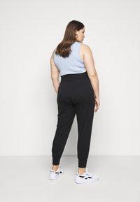 Even&Odd - High Waist Lightweight Slim Jogger - Tracksuit bottoms - black - 2