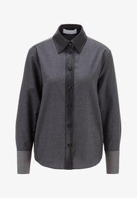 BOSS - BELUTA - Button-down blouse - grey - 5