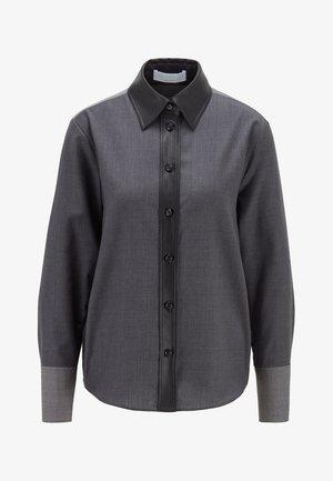 BELUTA - Button-down blouse - grey