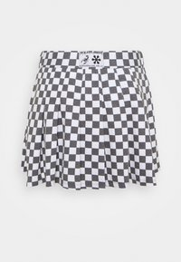 NEW girl ORDER - CHECKERBOARD SKIRT - Áčková sukně - black/white - 0