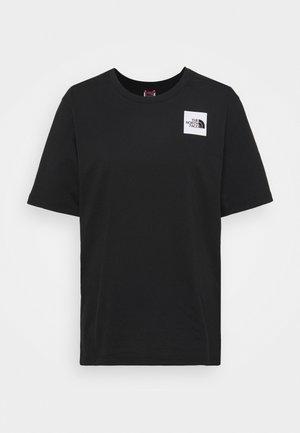 FINE TEE - T-shirt imprimé - black