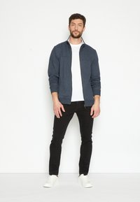 TOM TAILOR - TROY - Slim fit jeans - black denim - 1