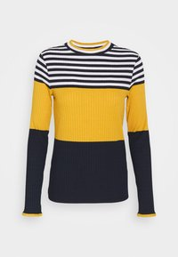 edc by Esprit - COLORBLOCK  - Jumper - brass yellow - 5