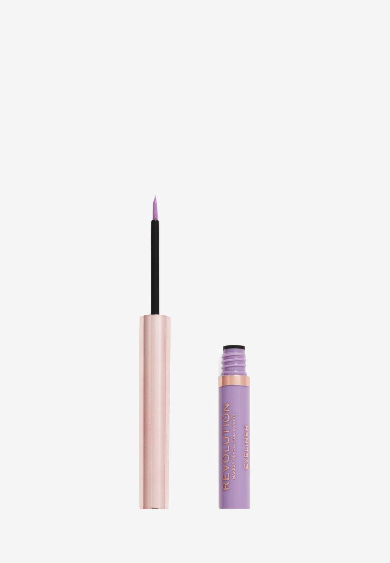 Make up Revolution - REVOLUTION NEON HEAT COLOURED LIQUID EYELINER - Eyeliner - sweet lilac