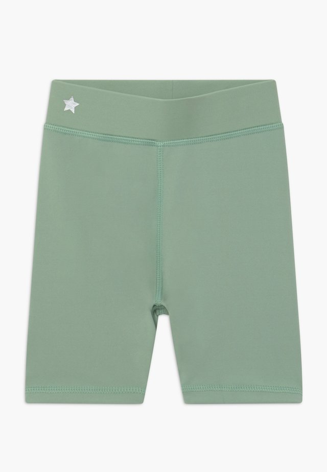 GIRLS SHORTS - Tights - sage green