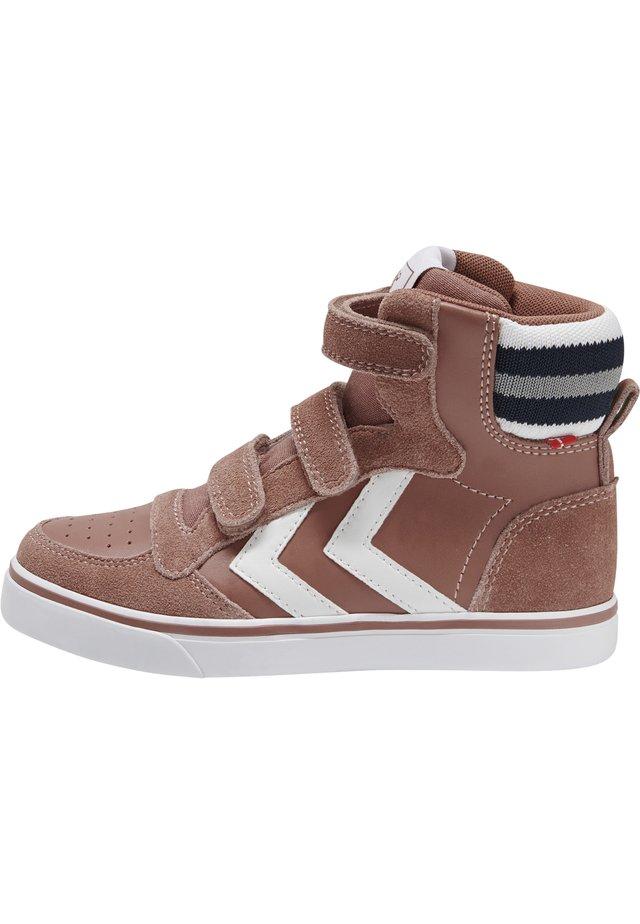 Sneakers hoog - cedar wood