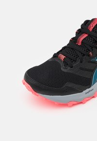 ASICS - GEL SONOMA 6 - Trail running shoes - black/deep sea teal - 5