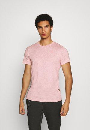 BASE-S R T S\S - T-shirt basic - mottled red