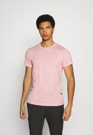 BASE-S R T S\S - T-shirts basic - mottled red