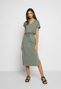 b.young - BYPOMMA DRESS  - Day dress - sea green - 1