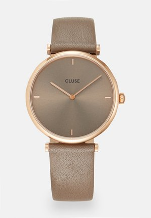 TRIOMPHE - Uhr - rose gold-coloured/soft taupe