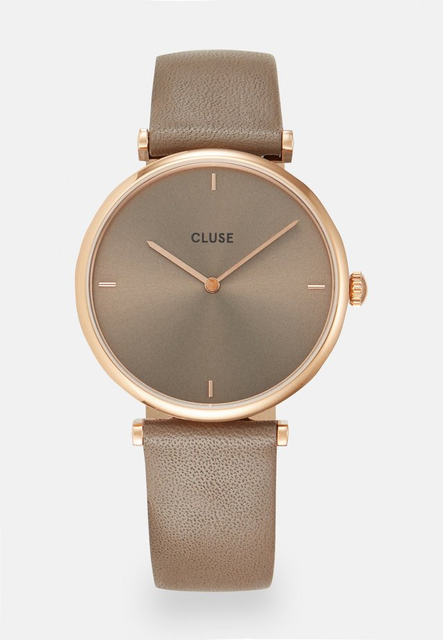 TRIOMPHE - Watch - rose gold-coloured/soft taupe