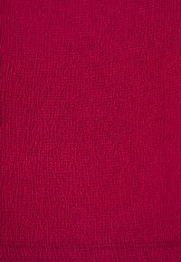 Anna Field Curvy - Basic T-shirt - bordeaux - 2