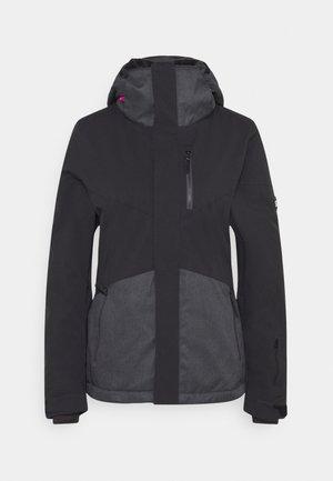 CORAL JACKET - Giacca da snowboard - dark grey