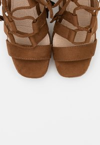 mtng - CAMBA - High heeled sandals - brown - 5
