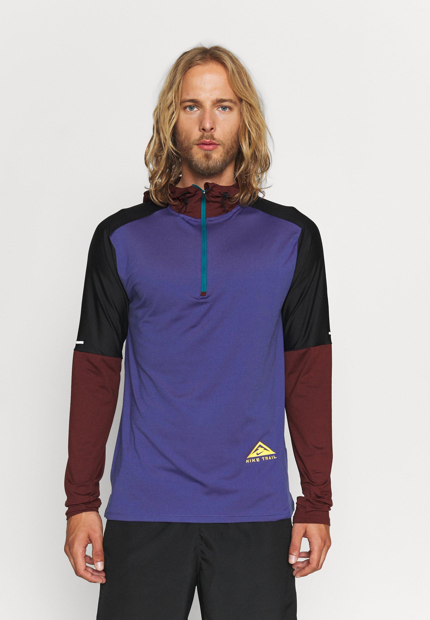Uomo TRAIL HOODIE - T-shirt sportiva