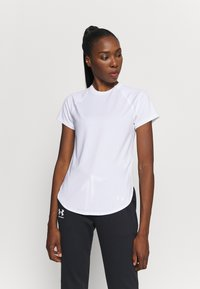 Under Armour - SPORT HI LO  - T-Shirt basic - white - 0